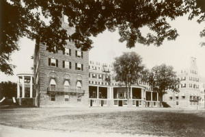 Historical photo of The Otesaga Resort Hotel.
