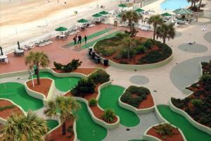 Mini Golf View at Bluewater Resort