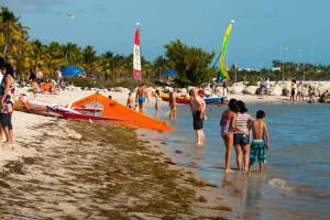 Key West beaches near The Banyan Resort.