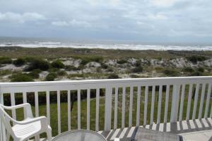 Rental balcony view at Amelia Island Rentals, Inc.