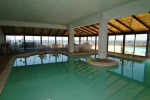 Indoor pool at Virginia Beach Resort Hotel.