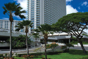 Exterior View of Ala Moana Hotel
