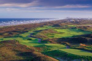 Golf course near The Dunes Condominiums.