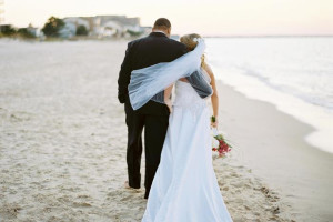 Weddings on the beach at Virginia Beach Resort Hotel.