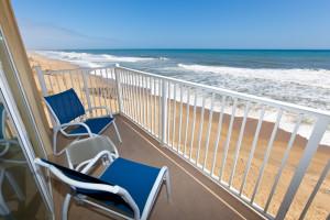 Balcony view at The Sea Ranch Resort.