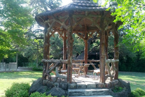 Gazebo at Haven River Inn