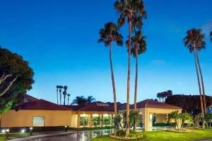 Exterior view of Courtyard by Marriott Anaheim Buena Park.