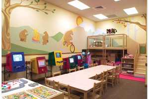 Kid's playroom at Westgate Park City Resort & Spa.