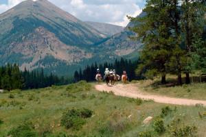 Mountain ride at Tumbling River Ranch.