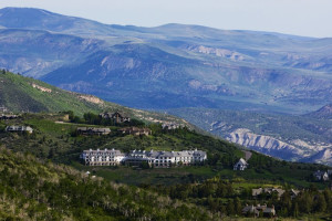 Aerial view of Lodge & Spa At Cordillera.