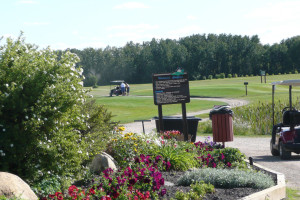 Golf course at Good Spirit Golf Resort.