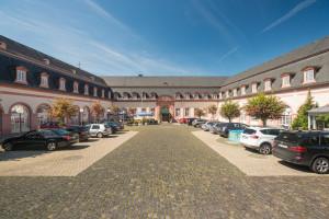 Exterior view of Schlosshotel Weilburg.