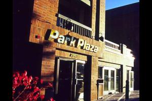 Exterior view of Park Plaza.