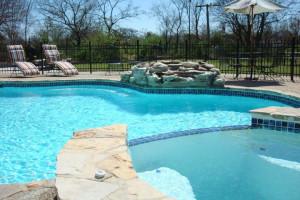 Outdoor pool at Gruene Homestead Inn.