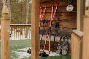 Skiing at Inn At Lake Joseph.