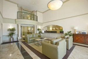 The lobby at Extended Stay Deluxe Austin - Arboretum - North.