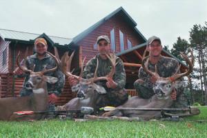 Hunting at Deer Haven Acres.