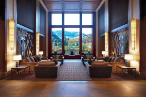 Lobby view at The Westin Riverfront Resort & Spa.