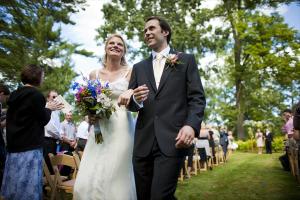 Wedding at Stout's Island Lodge.