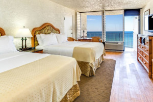 Guest room at Holiday Inn Resort Panama City Beach.