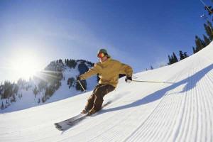 Downhill skiing at Wyndham Vacation Resorts Shawnee Village.