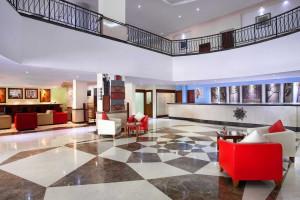 Lobby at Ibis Rajawali Surabaya Hotel.