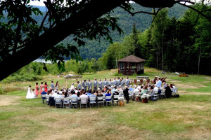 Weddings at Garnet Hill Lodge.
