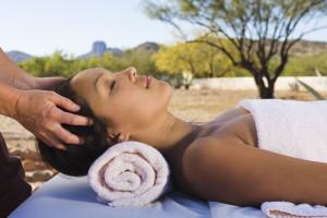 Massages at Rancho De Los Caballeros.