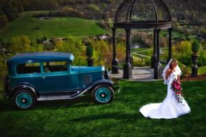 Bride at  	Stroudsmoor Country Inn.