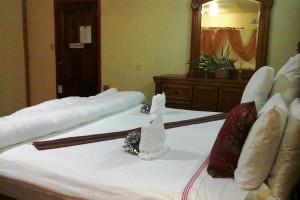 Guest room at Super Palm Resort.