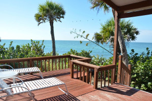 Deck view at Manasota Beach Club.