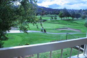 Golf course at San Vicente Golf Resort.