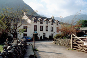Exterior view of Wasdale Head Inn.