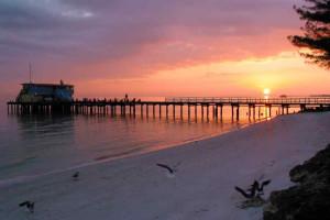 Beach sunset at beachrentals.mobi. LLC.