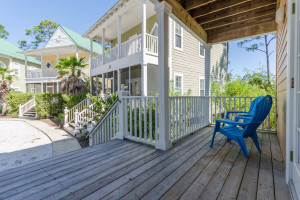 Rental porch at Perdido Key Resort Management.