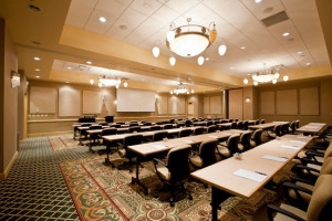 Conference room at French Lick Resort.