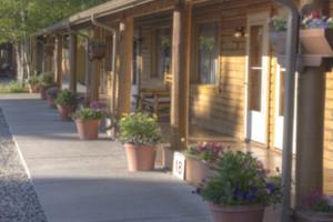 Motel Exterior at Rainbow Valley Lodge