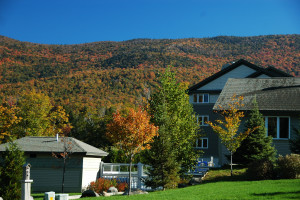 Exterior view of Smugglers' Notch Resort.