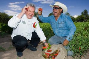 Chefs at Hotel Chimayo de Santa Fe.