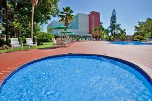 Outdoor pool at Holiday Inn Mayaquez & Tropical Casino.