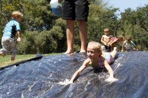 Kids activities at Greenhorn Creek Resort.