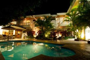 Outdoor pool at Hotel Buena Vista.
