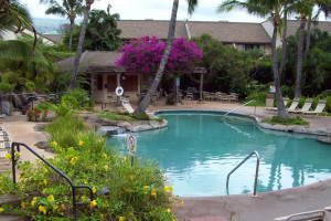 Outdoor pool at Maui Kamaole.