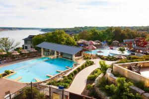 Outdoor pool at Lakeway Resort and Spa.