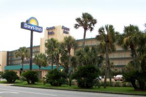 Exterior of Days Inn Panama City Beach