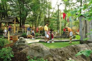 Mini golf at Mountain Shadows Resort.