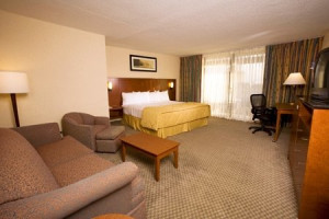 King Room at Best Western Lake Buena Vista
