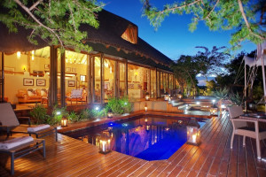 Exterior view of Shamwari Game Reserve.
