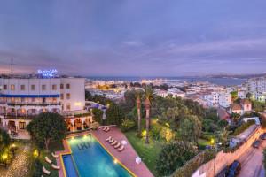 Exterior view of Hotel El Minzah.