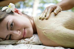 Spa massage at Honeymoon Bay Lodge & Retreat.
